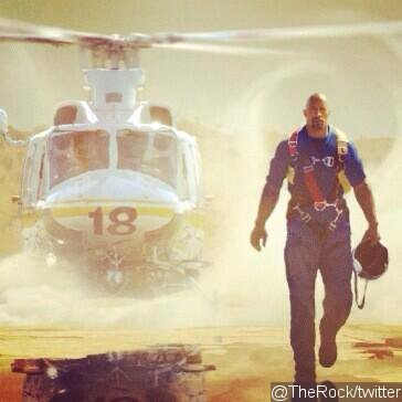 First Look at Dwayne 'The Rock' Johnson in 'San Andreas'