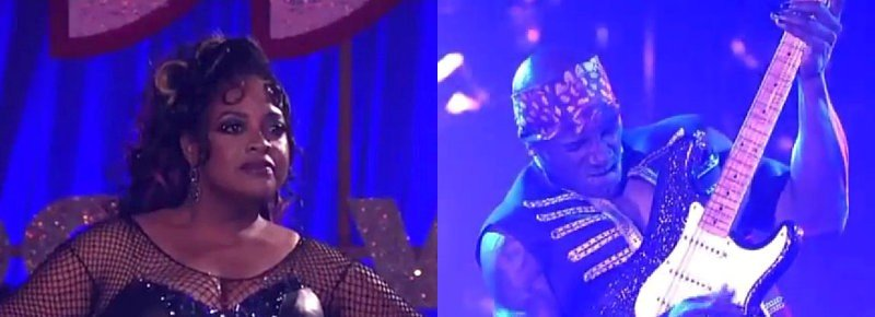 'Dancing with the Stars': Sherri Shepherd Gets 'Nasty', Donald Driver Goes Sexy on Rock Night