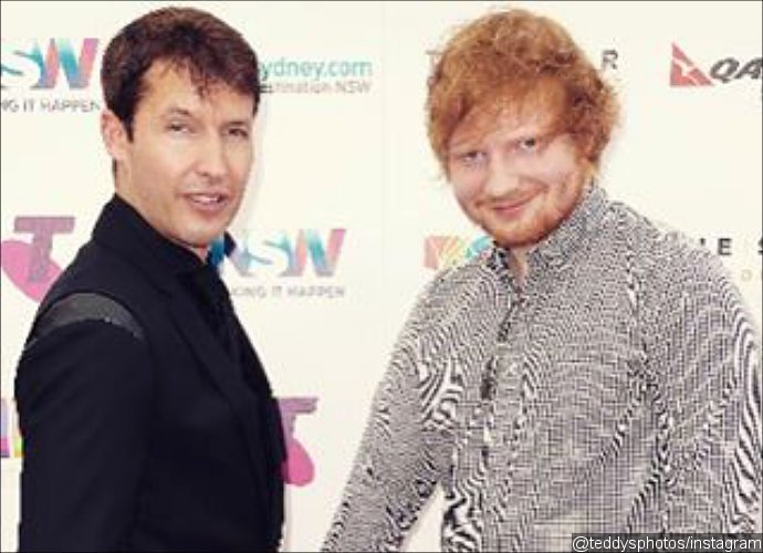 Ed Sheeran Announces 'Engagement' to James Blunt on Instagram. Is He Serious?