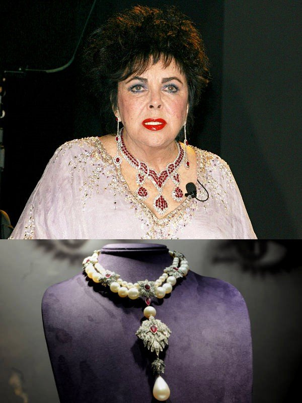 elizabeth taylor 39 s legendary jewels set new record for