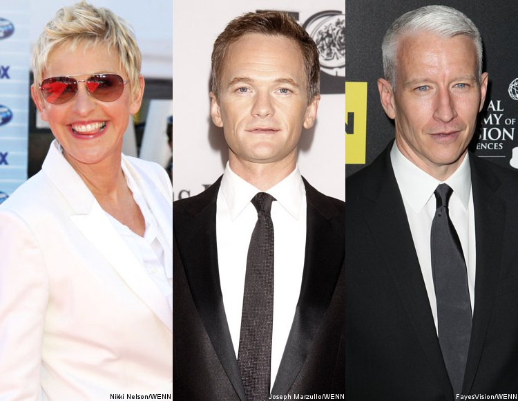 Ellen DeGeneres and Neil Patrick Harris 'Proud' of Anderson Cooper for Coming Out
