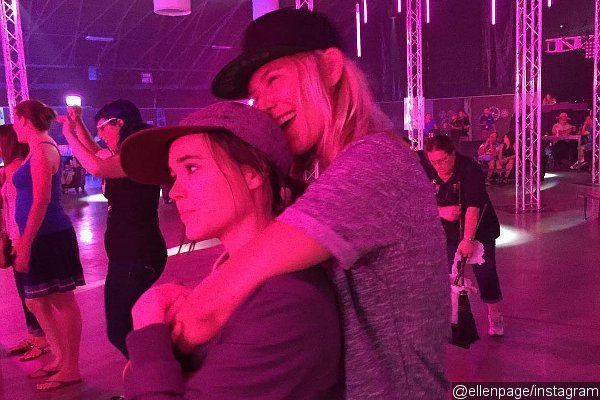 Ellen Page Shares Adorable PDA Photo With Girlfriend Samantha Thomas