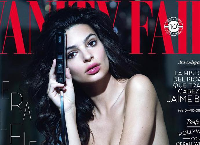 Emily Ratajkowski Goes Topless on Vanity Fair Spain Cover Before Baring All for Steamy Inside Photos