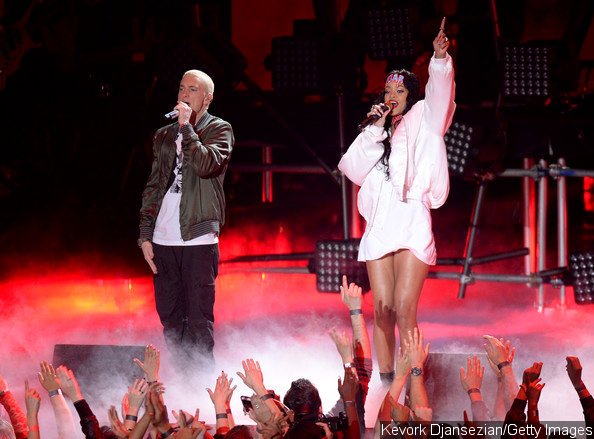 Video: Eminem and Rihanna Bring 'The Monster' to 2014 MTV Movie Awards