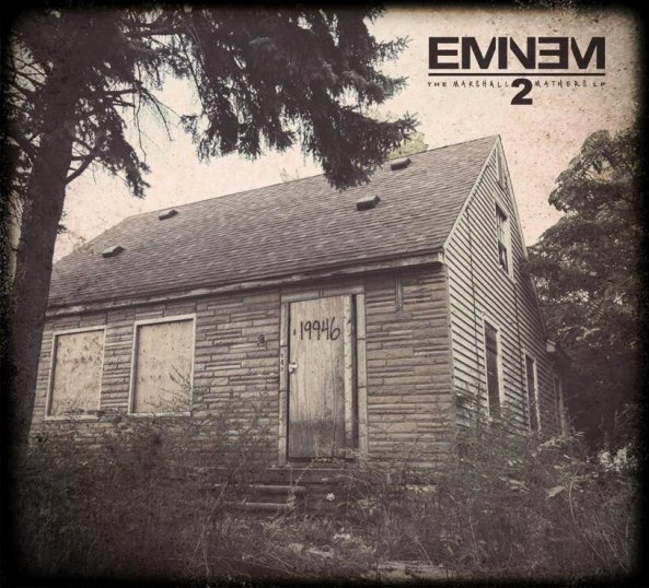The Marshall Mathers LP 2 (Deluxe) @320 (MEGA)