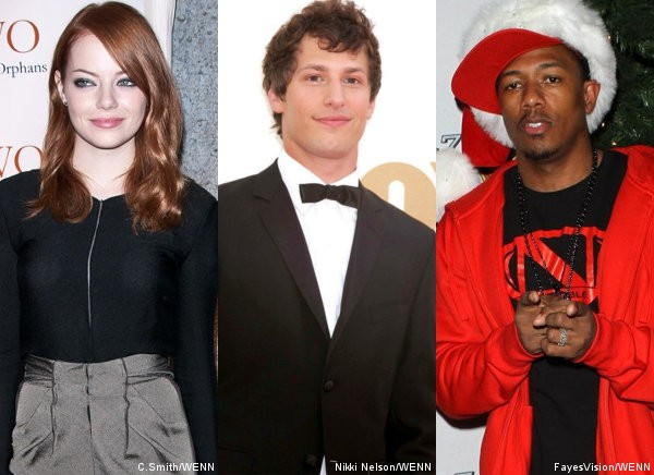 '30 Rock': Emma Stone, Andy Samberg and Nick Cannon to Star in Faux Movie
