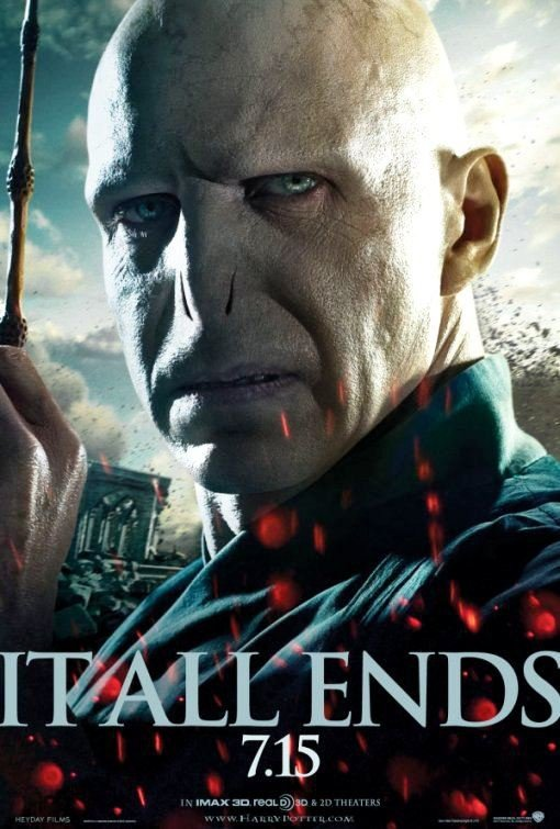 Evil Voldemort in Fresh 'Deathly Hallows Part 2' Poster