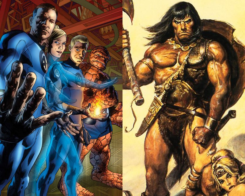 'Fantastic Four' Reboot and 'The Legend of Conan' Get Writers