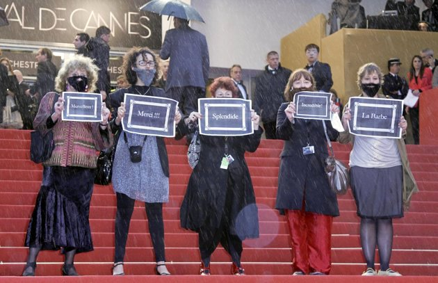Feminists Protest the Lack of Female Directors at Cannes Film Festival