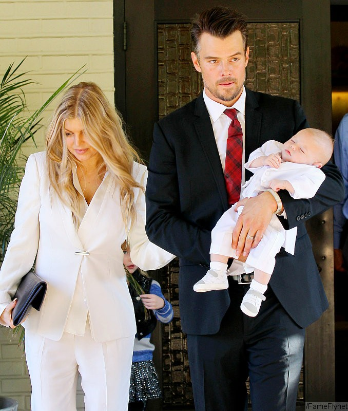 Fergie and Josh Duhamel Celebrate Son's Baptism