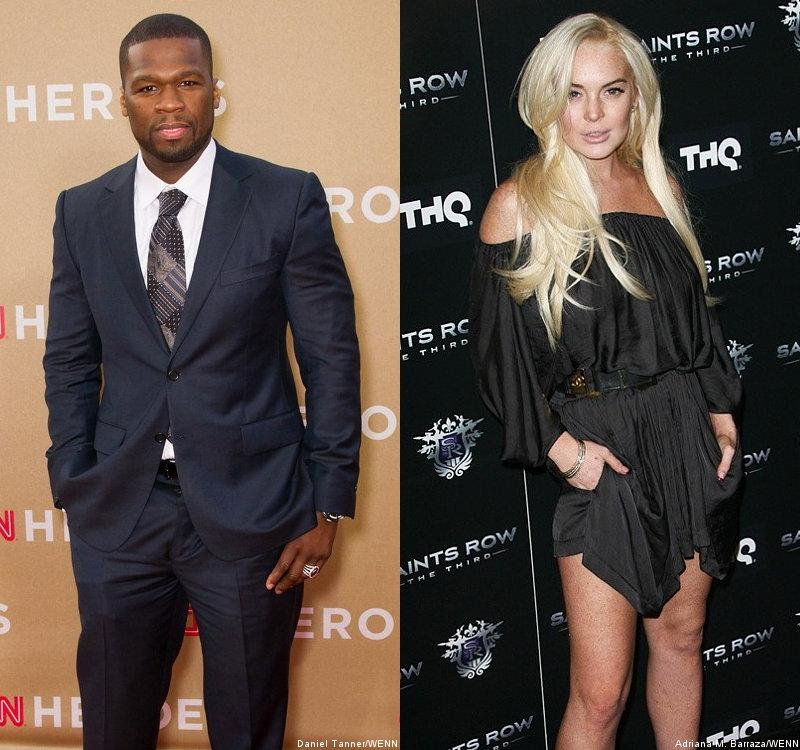 50 Cent Compares Lindsay Lohan to Stripper for Nude Playboy Spread