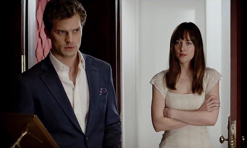 'Fifty Shades of Grey' Trailer Deemed Too Hot for TV
