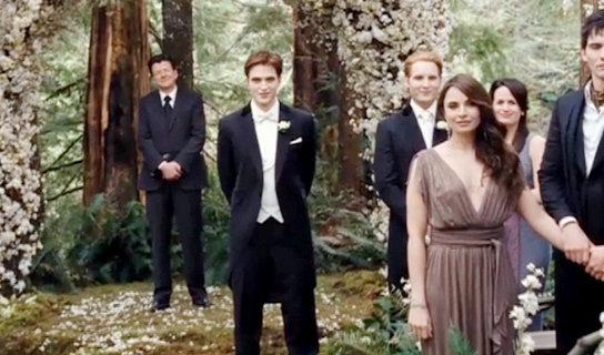 First Footage of 'Breaking Dawn Part I' Reveals Wedding Scene