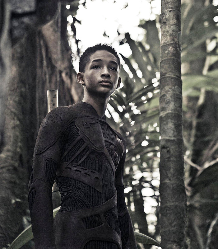 First Photo of Jaden Smith in Futuristic Costume on 'After Earth' Set