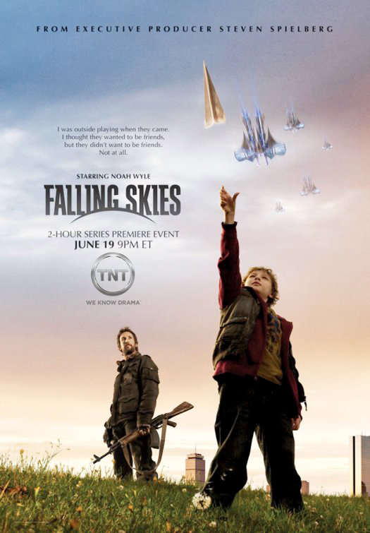 Five Minutes of Alien Invasion Series 'Falling Skies' Shared