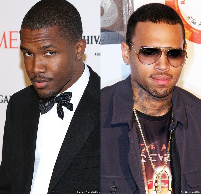 Frank Ocean Takes Aim at Chris Brown in 'Versace' Remix