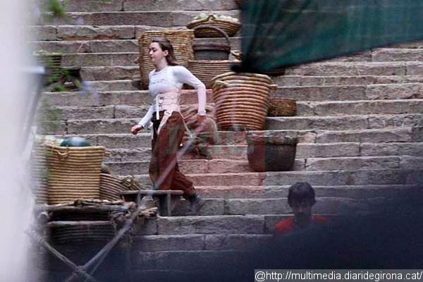 Game Of Thrones Arya Chased By The Waif In New Set -5150