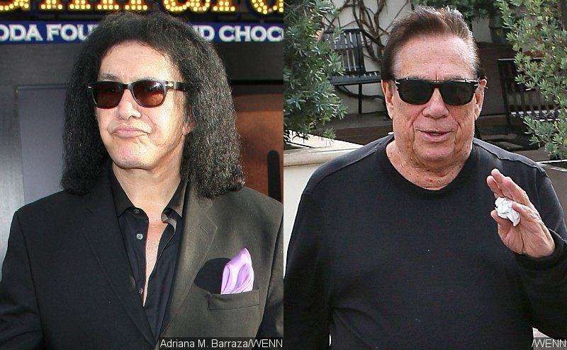 KISS' Gene Simmons Shows Support to Donald Sterling