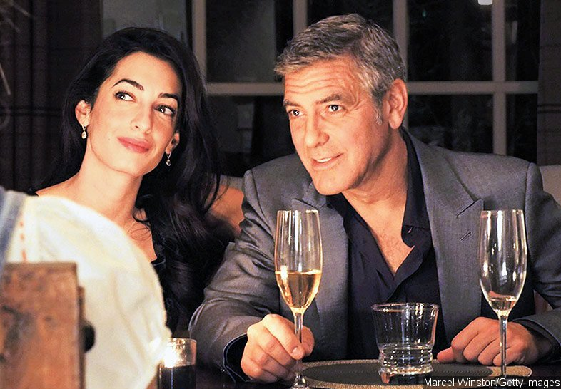 George Clooney and Amal Alamuddin Host Star-Studded Engagement Party