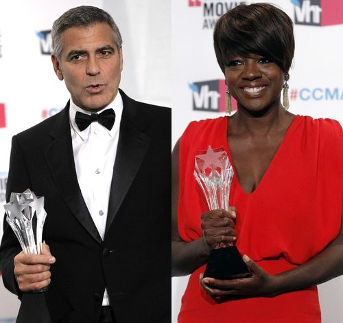 George Clooney and Viola Davis Among Winners at 2012 Critics' Choice Awards
