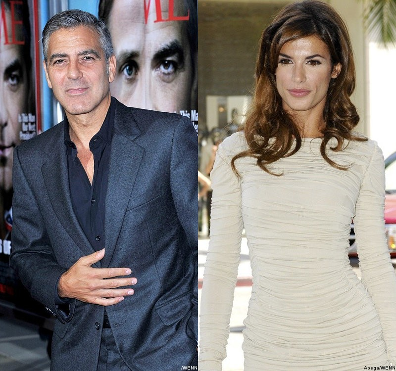 George Clooney Comes to Elisabetta Canalis' Defense on Angry Texts Rumor