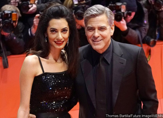 George Clooney's Wife Amal Dazzles at 'Hail Caesar' Berlin Premiere