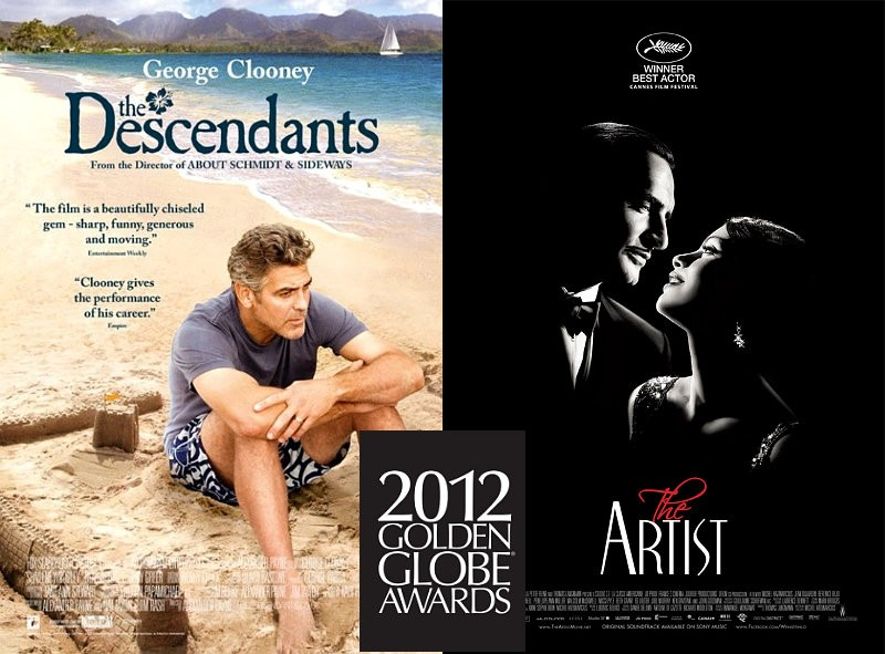 Golden Globes 2012: Full Winners Include 'The Descendants' and 'The Artist' as Best Pictures