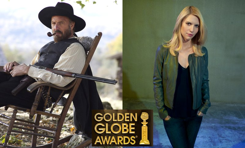 Golden Globes 2013: Kevin Costner and Claire Danes Win TV Acting Prizes