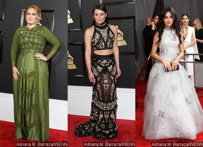 Grammy Awards 2017: Adele, Lea Michele, Camila Cabello Get Fancy on Red Carpet