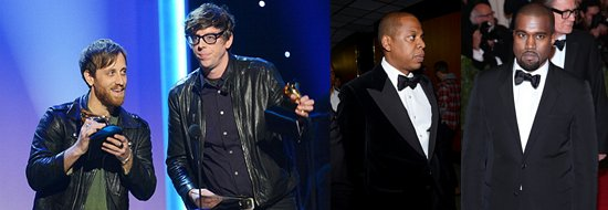 Grammys 2013: The Black Keys, Jay-Z and Kanye West Win Early