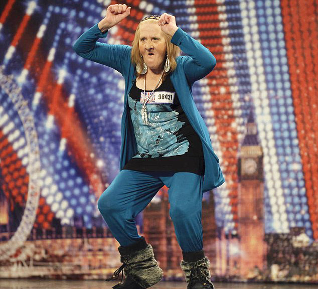 Granny's Dance Too Raunchy for 'Britain's Got Talent'