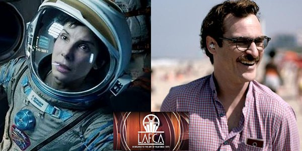 'Gravity' and 'Her' Tie for Best Picture at Los Angeles Film Critics