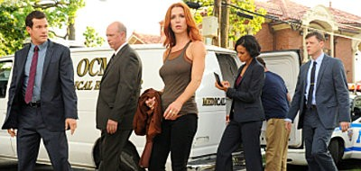 A female detective uses her perfect memory to solve crimes on 'Unforgettable'