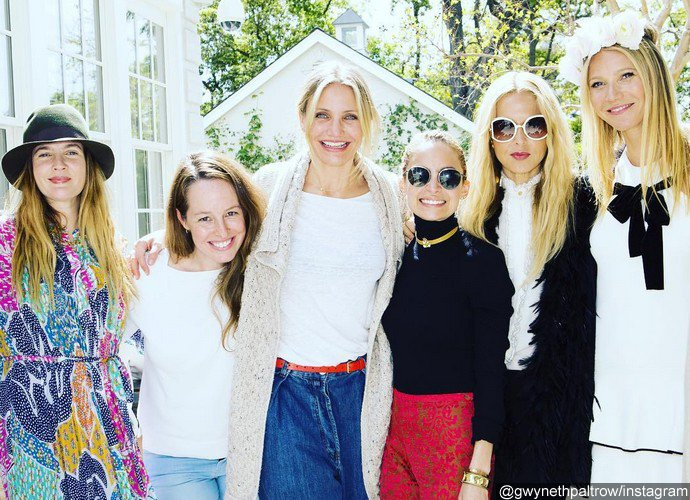 Gwyneth Paltrow Has Star-Studded Lunch With Cameron Diaz, Drew Barrymore and Reese Witherspoon