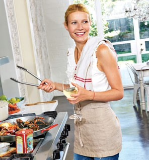 Gwyneth Paltrow to Show Cooking Skill in 'Blood, Bones and Butter'