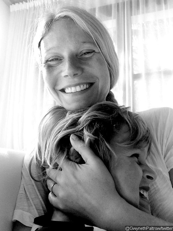 Gwyneth Paltrow Wears Wedding Ring in New Photo With Son Moses