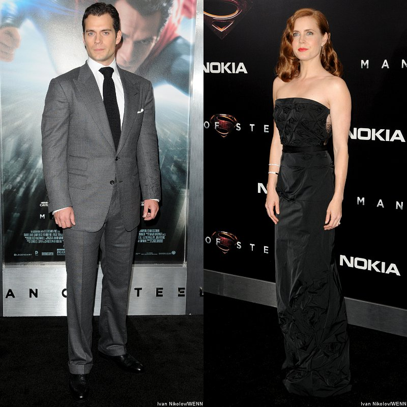 Henry Cavill and Amy Adams Hit New York for 'Man of Steel' Premiere