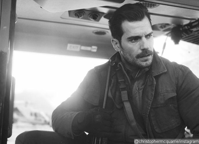 Get a Look at Henry Cavill's Mustache in 'Mission: Impossible 6' Image