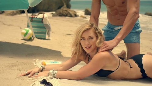 Hilary Duff Hits the Beach in 'Chasing the Sun' Music Video
