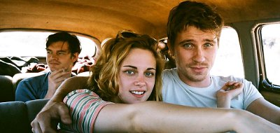 Kristen Stewart embarks on a wild journey with two men in 'On the Road'