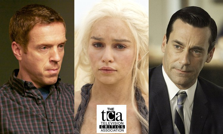 'Homeland', 'Game of Thrones' and 'Mad Men' Dominate 2012 TCA Award Nominations