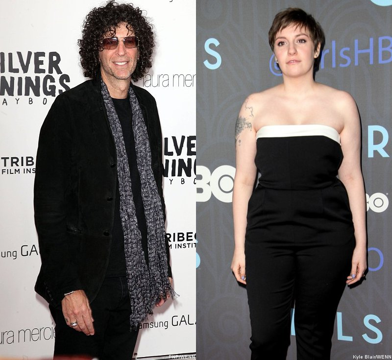 Howard Stern Sorry for Calling Lena Dunham 'a Little Fat Girl'