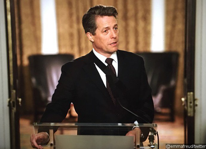 First Look at Hugh Grant as Prime Minister in 'Love Actually' Sequel