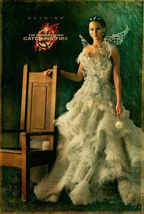 New 'Hunger Games: Catching Fire' Capitol Portrait: Jennifer Lawrence Dazzles in White