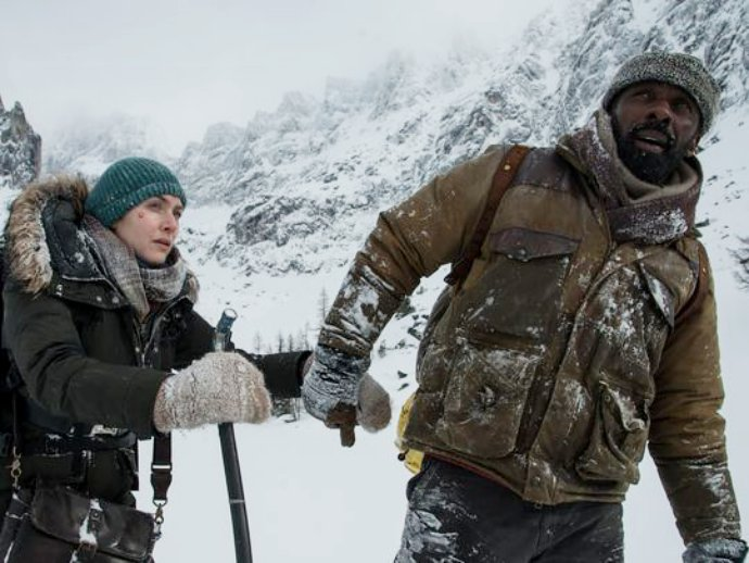 Get First Look at Idris Elba and Kate Winslet Amid Freezing Wilderness in 'The Mountain Between Us'