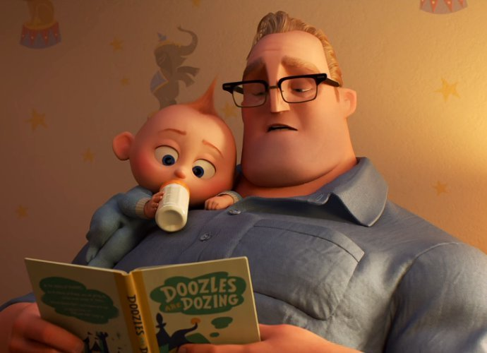 'Incredibles 2' Olympics Sneak Peek Shows the Struggles of Nursing Super-Powered Baby