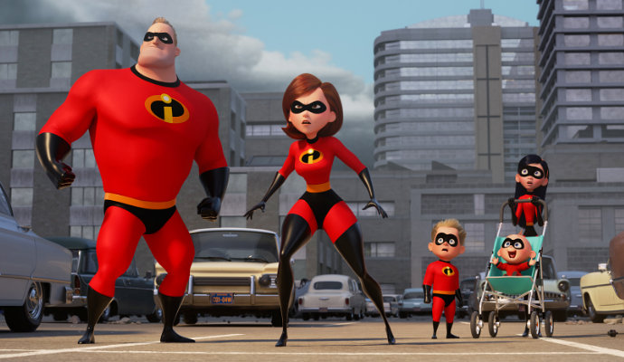'Incredibles 2' Reveals New Characters, Sophia Bush and Jonathan Banks Join the Cast