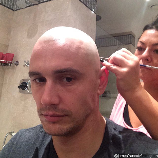 Pics: James Franco Goes Completely Bald for 'Zeroville'