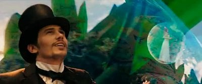 James Franco Rides a Bubble in New 'Oz: the Great and Powerful' Trailer
