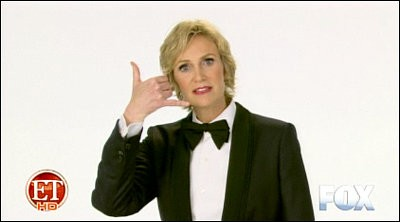 2011 Emmy Ad: Jane Lynch 'Steals' Hosting Gig From Ellen DeGeneres
